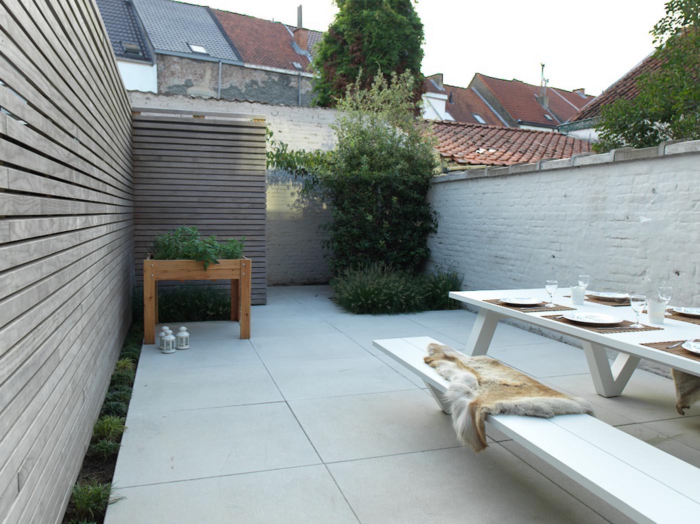 Stadstuin aanleggen l stadstuinen l tuinarchitect de roose for Tuinarchitect modern